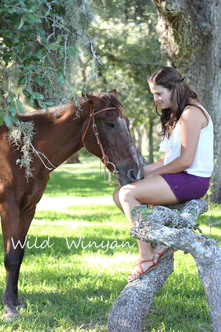 Katelynn and Elvis by WildWinyan