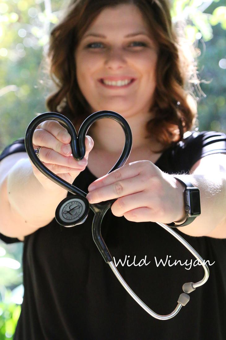 Nurse Love by WildWinyan