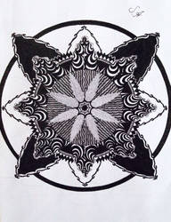 Mandala with Pink Floyd by SofiaAllen