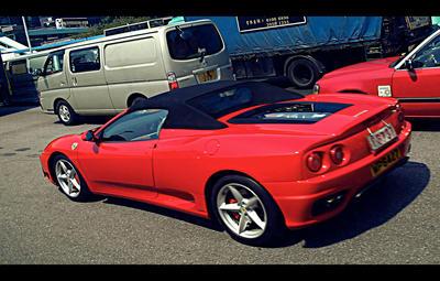 That Red Ferrari by kitseps