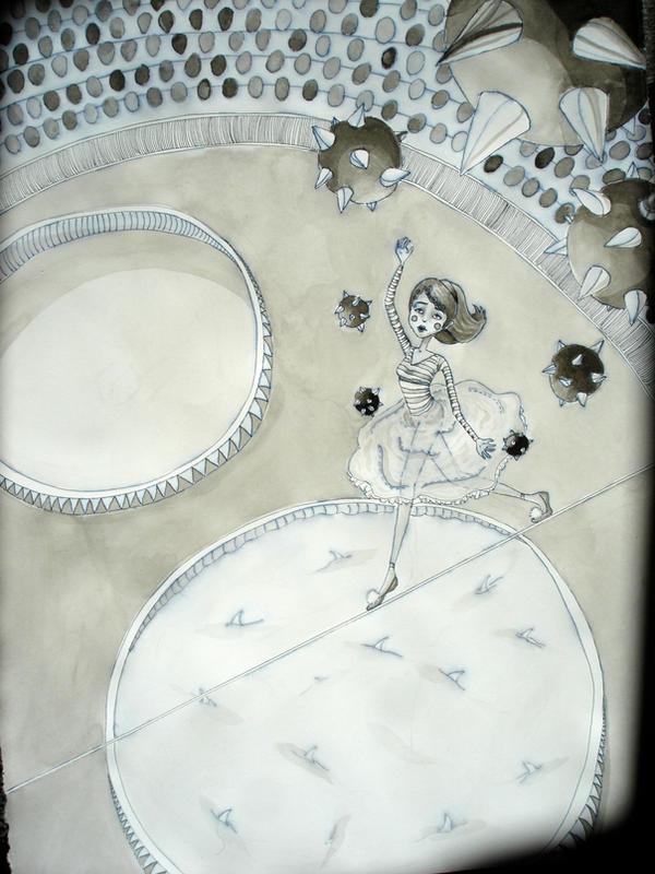 Circus Act by Hannah-Adarling