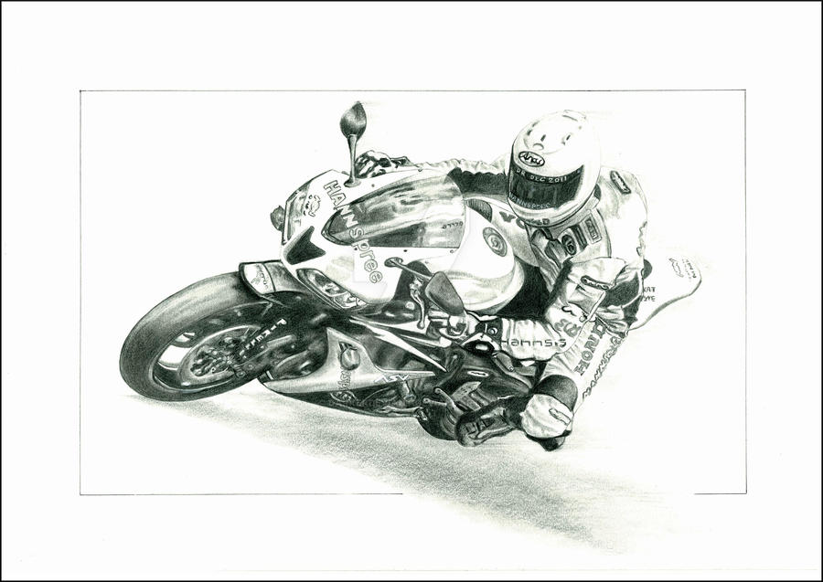 My First Motorcycle Drawing By Darkerdeviant On Deviantart