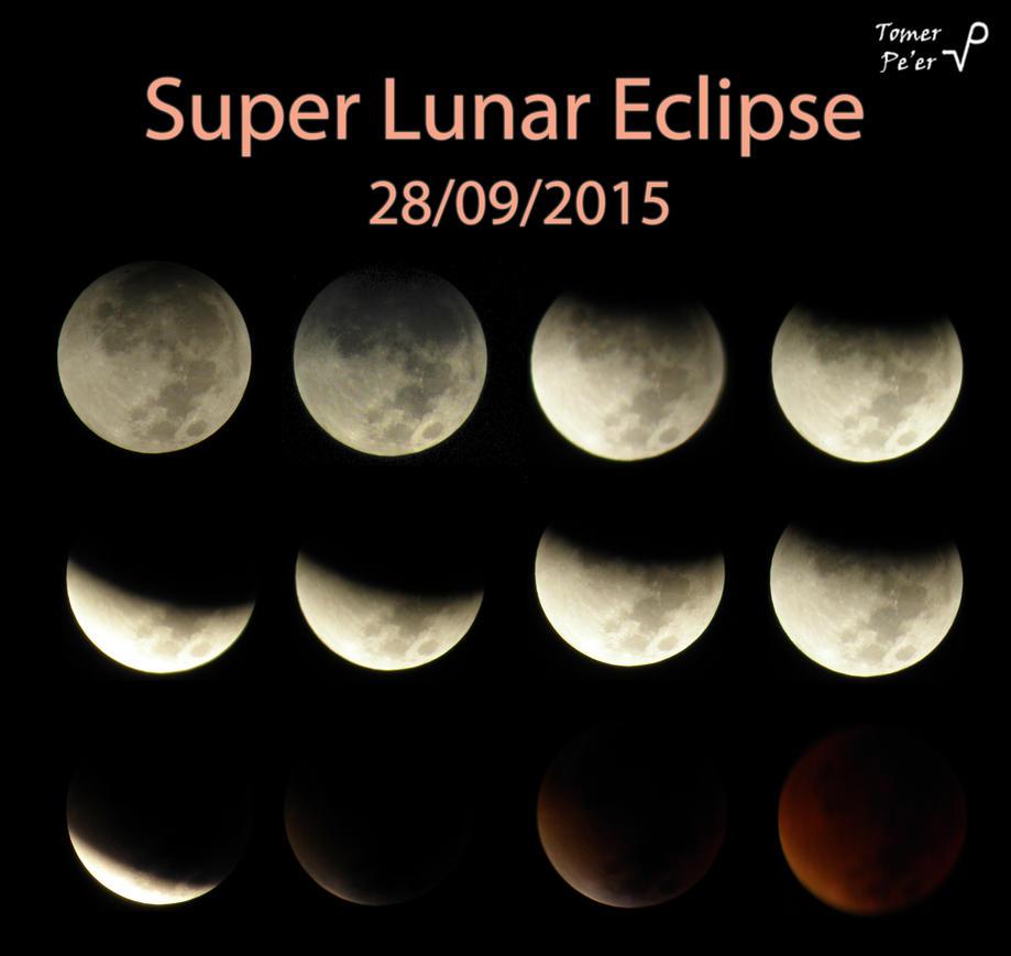 Super Lunar Eclipse by Tomer-DA