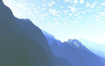 Morning in the mountain by ultrareality