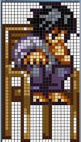 L X-Stitch Pattern