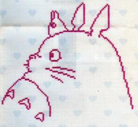 X-Stitch Fanart- Totoro