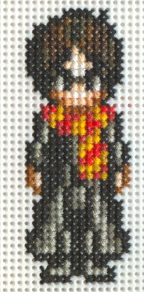 X-Stitch Fanart- Harry Potter by missy-tannenbaum