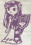 X-Stitch Fanart- 4th Zelda