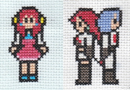 X-Stitch Team Rocket And Guest by missy-tannenbaum
