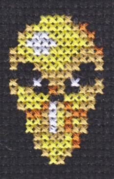 PMD X-Stitch 2: Kakuna by missy-tannenbaum