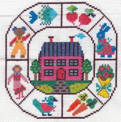Ondori Cross Stitch Sampler 1