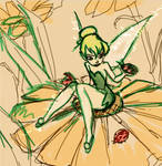 Flowery Sketch