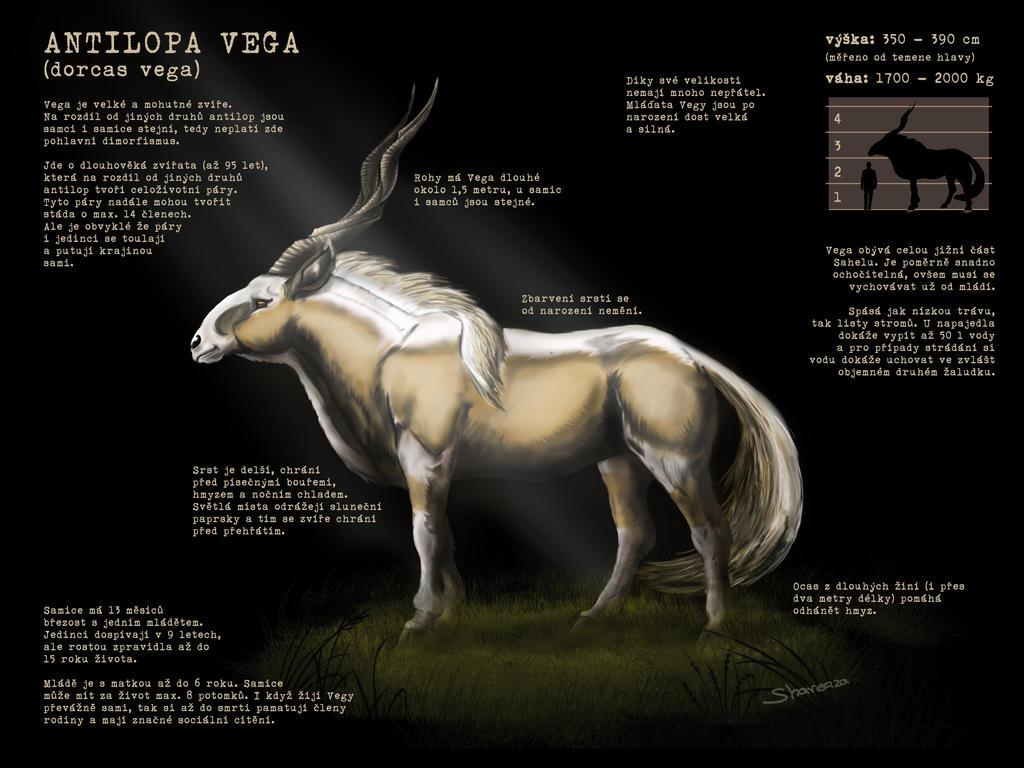 Antelope Vega sheet for Sahel