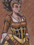 ACEO - Lady Gothica
