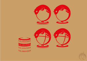 Salamander travel - logo WIP