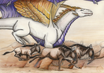 The Great Migration and dragon