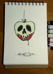 Inktober - 3. poison by MargotShareaza