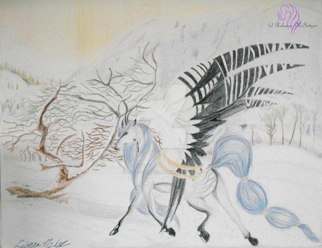 Wind Knight by RebeccaMArt