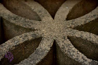 Stone Flower by RebeccaM-Art