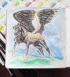 D083 - Castiel by RebeccaM-Art