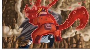 Naruto Sasuke chakra Kyubi