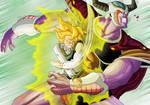 DBM Goku vs Cold