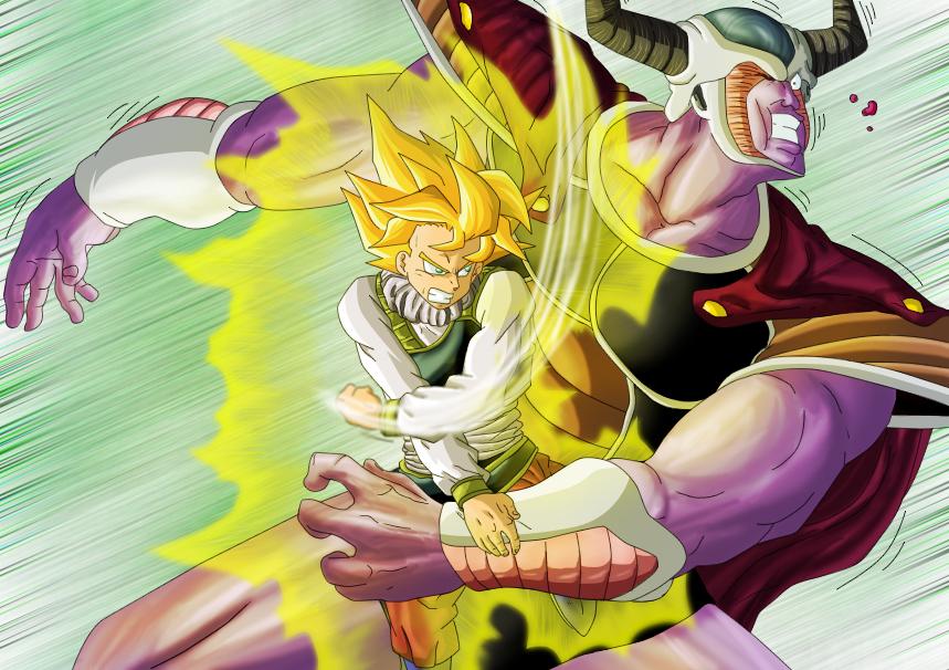 Imagenes de Dragon Ball (serias, graciosas, fan-arts, renders, etc) - Página 3 Dbm_goku_vs_cold_by_leackim7891-d3y3h8d