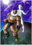 Nappa VS Freeza