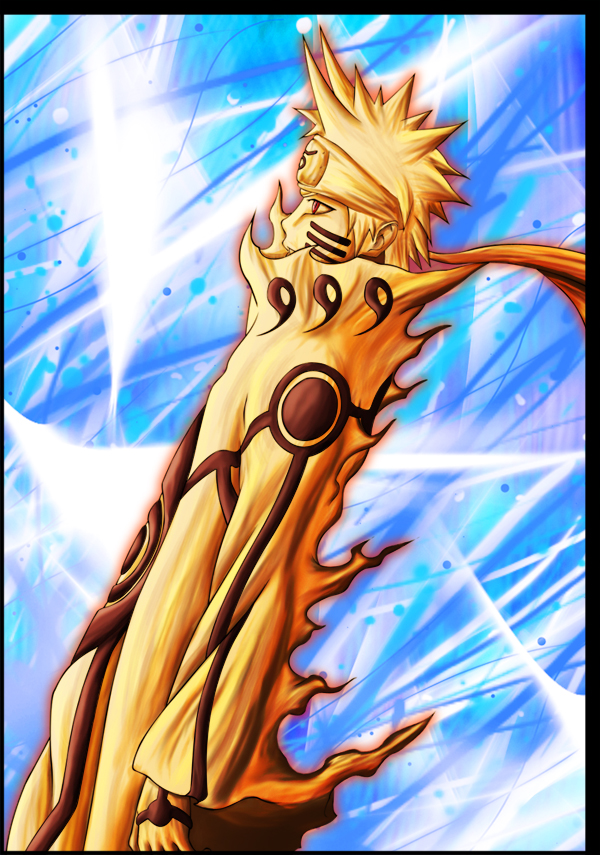 Naruto mode chakra Kyuubi by Leackim7891Naruto Kyuubi Chakra Mode