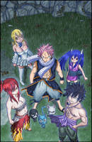 La troisieme generation de Fairy Tail by Leackim7891