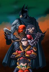 The Bat Family by Leackim7891