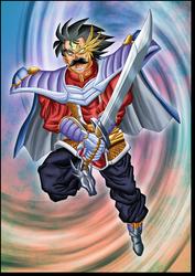 Fanart Baran Dragon Quest by Leackim7891