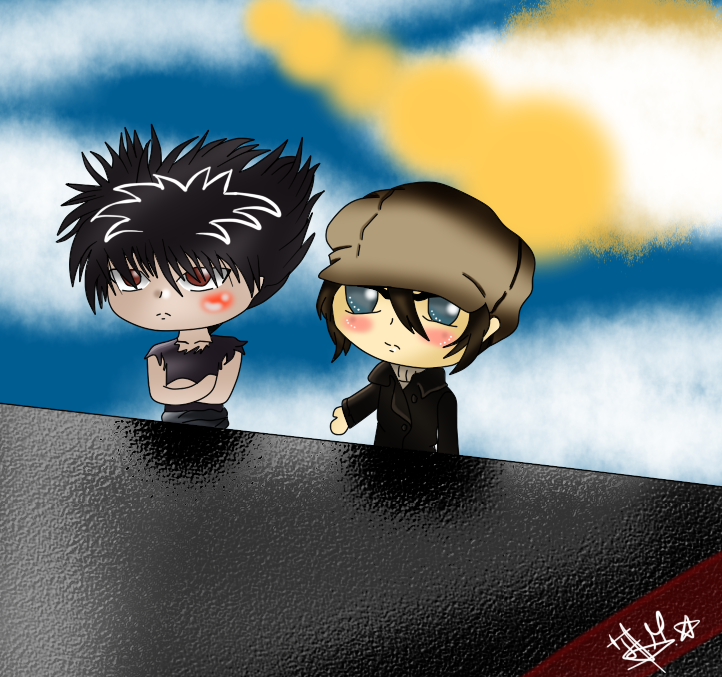 Hey, come on, lets go...-chibi by Chio-Chuu