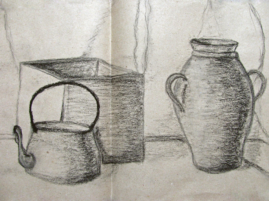 School Year Vessels Drawing Coal By Thisoneofmarvels On
