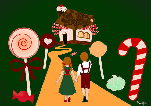 Tell a tale! project - Hansel and Gretel