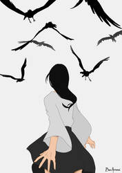 Tell a tale! project - The Seven Ravens by ThisOneOfMarvels