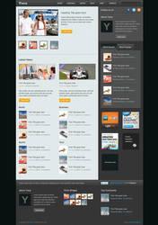 Yana: News Blog Template by burnstudio