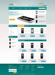 Phone Shop by burnstudio
