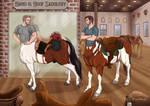Saddle Shopping