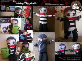 Mikey Way plushie