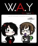 W.A.Y t-shirt design
