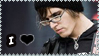 I love Mikey Way stamp. by Denorii
