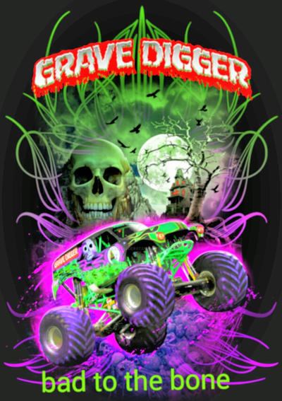 grave digger bad to the bone by gravedigger67 on DeviantArt