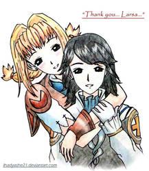 Larsa X Penelo ---Gratitude by LarsaFerrinasSolidor