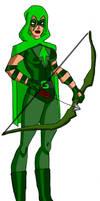Mia Dearden as Green Arrow