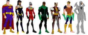My DC Reboot Crime Syndicate