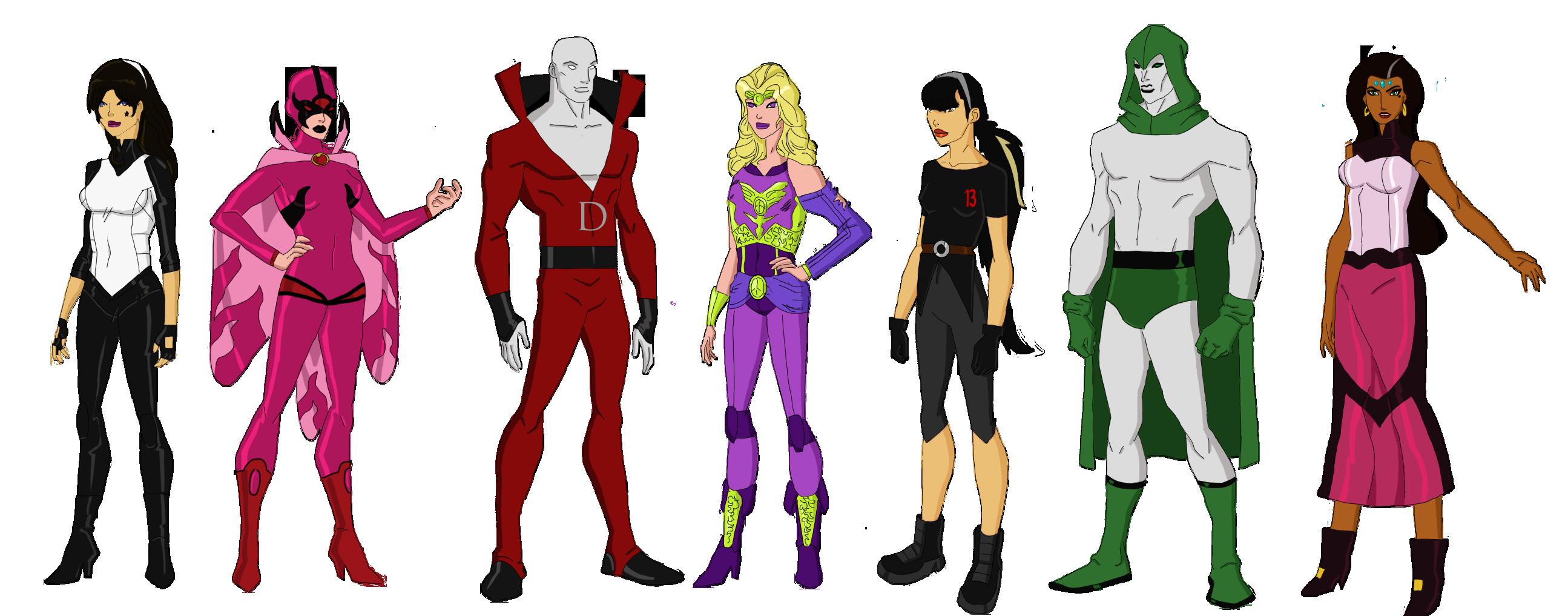 My Dc Reboot Justice League Dark By Jsenior On Deviantart