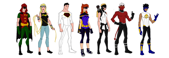 My Dc Reboot Young Justice