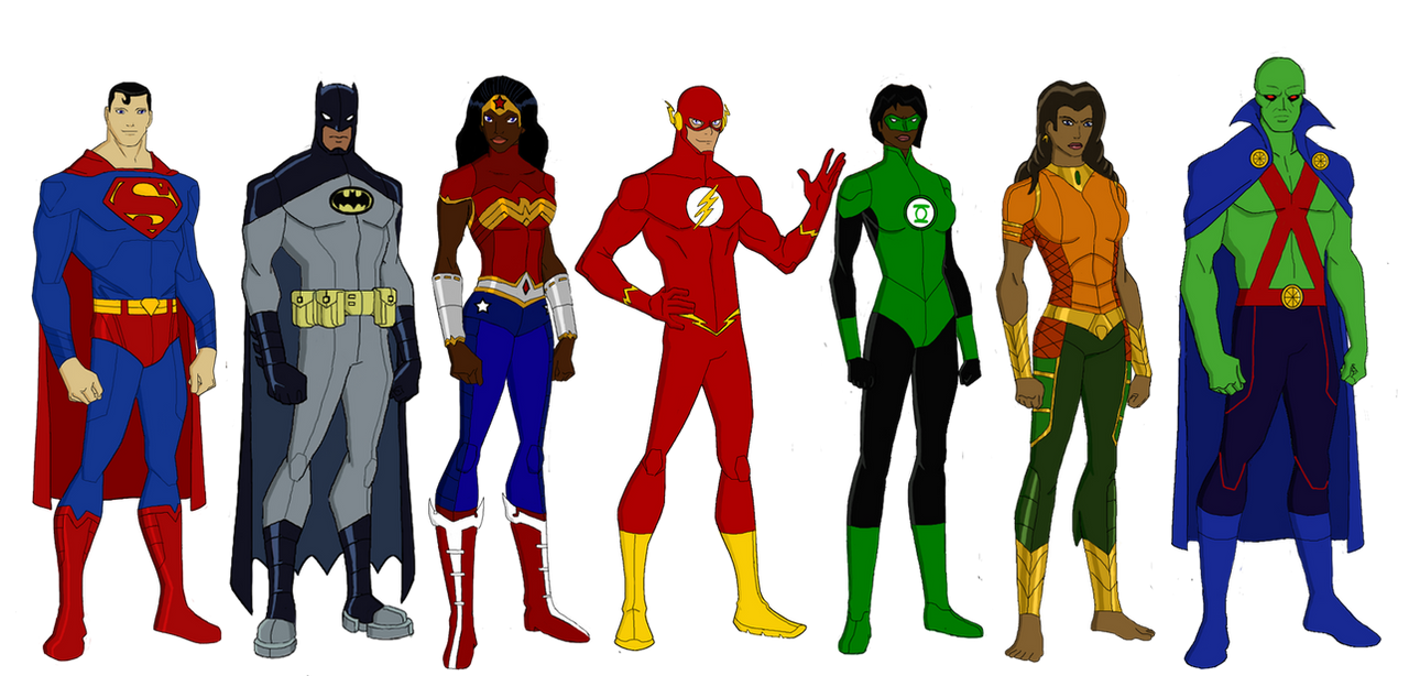 elseworlds justice league by jsenior on deviantart rh deviantart com justice league clipart Justice League Characters