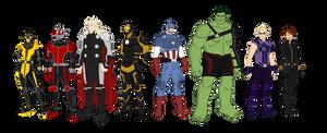 Avengers Redesign (2017)